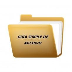 GUÍA SIMPLE DE ARCHIVO